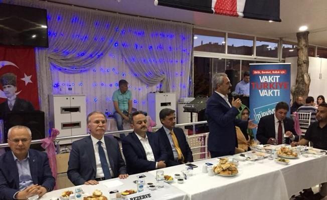 AK Parti milletvekili adayları iftarda bir araya geldi