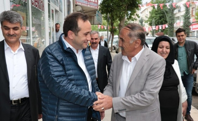"""AK Partili Ağar: """"Çalışmalarımız çok iyi gidiyor"""""""