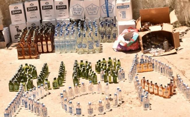 Bursa'da alkol satıcılarına büyük darbe!