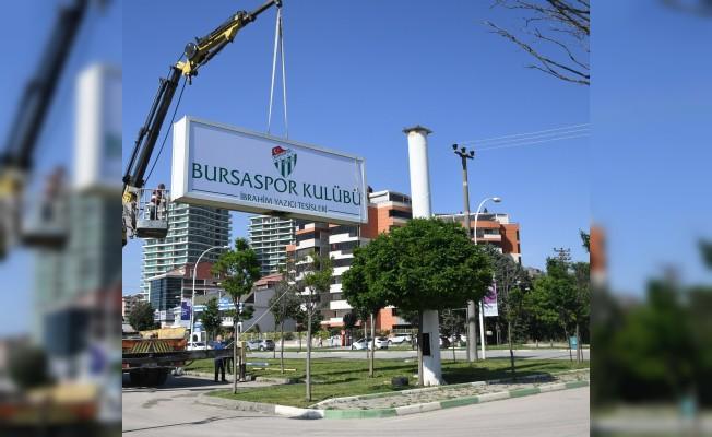 Bursaspor tesislerine yeni isim