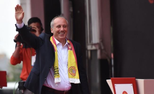 CHP'nin cumhurbaşkanı adayı İnce Malatya'da