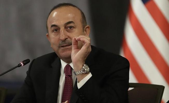 Dışişleri Bakanı Çavuşoğlu'ndan açıklamalar