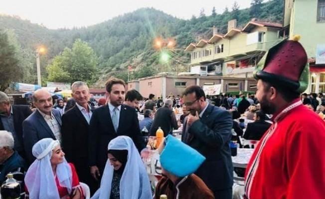 Emet Günlüce köyünde halk iftarı