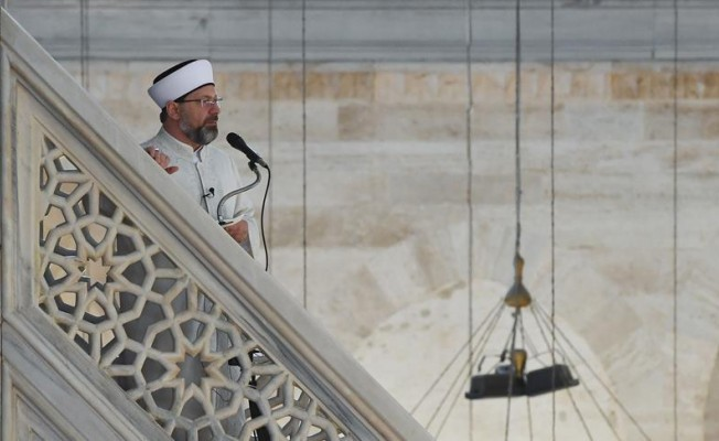 Erbaş, Süleymaniye'de bayram namazı kıldıracak