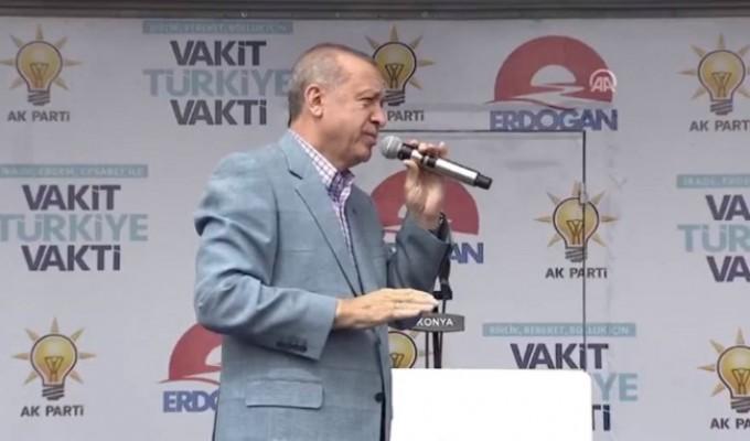 Erdoğan'dan İnce'ye Metin Temel cevabı: Bu millet sana o apoletleri...