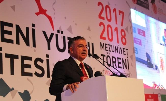 İstanbul Yeni Yüzyıl Üniversitesinde mezuniyet coşkusu
