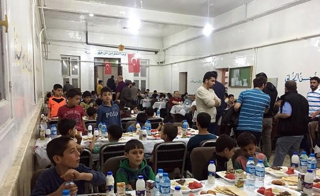 Keçiören Belediyesi'nden Azez'de kardeşlik iftarı