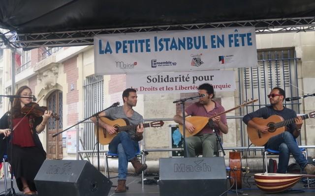 Paris'te Küçük İstanbul Festivali coşku ile kutlandı