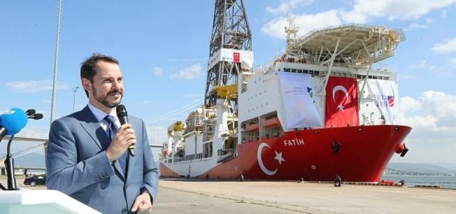 Türkiye'nin sondaj gemisi Fatih Yunanistan'ı korkuttu