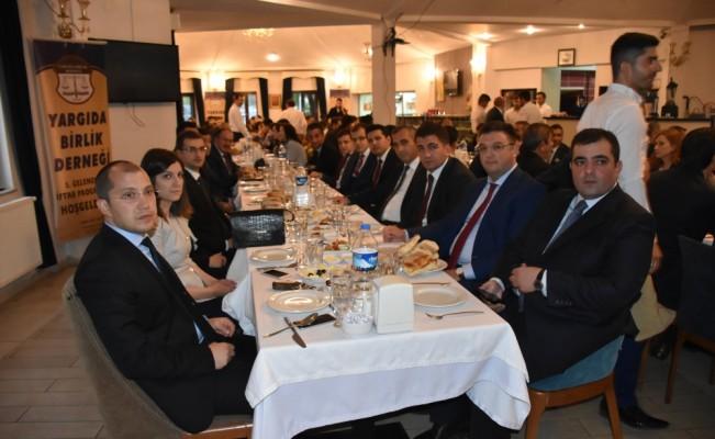 Yargıda Birlik Derneği geleneksel iftar programı