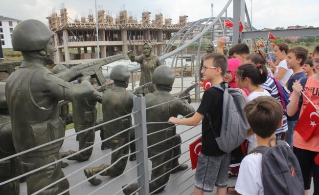 15 Temmuz hain darbe girişimi bu parkla yeni nesle anlatılıyor