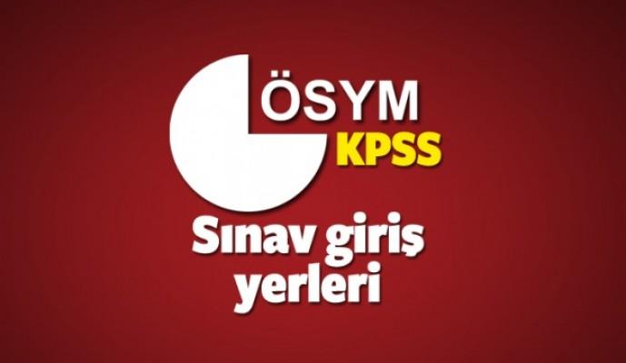 2018-KPSS sınav giriş yerleri belli oldu