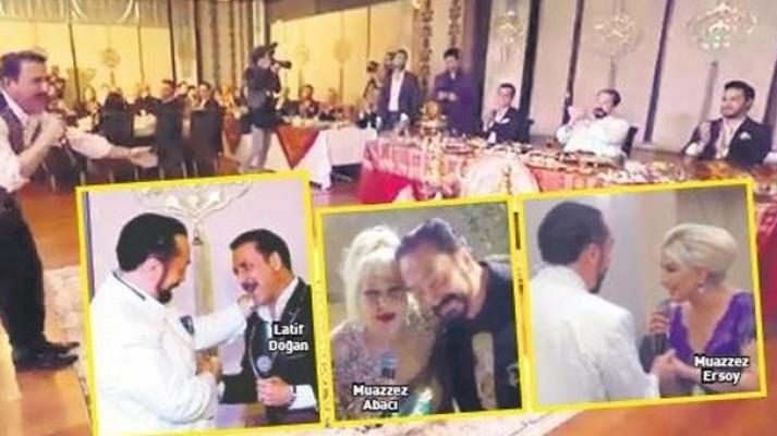 Adnan Oktar'ın düzenlediği gecelerde sahneye çıkan ünlüler konuştu!