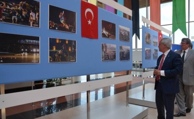 Anadolu Üniversitesi'nde 15 Temmuz Demokrasi ve Milli Birlik Günü ve Anma Programı