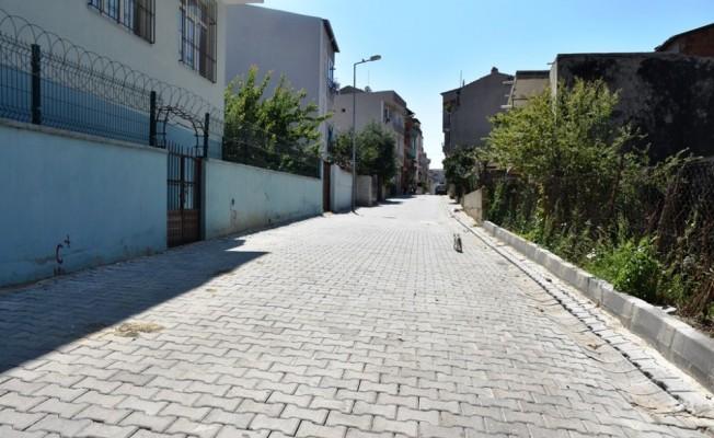 Aydoğdu Mahallesinde yol çalışmalarında sona yaklaşılıyor