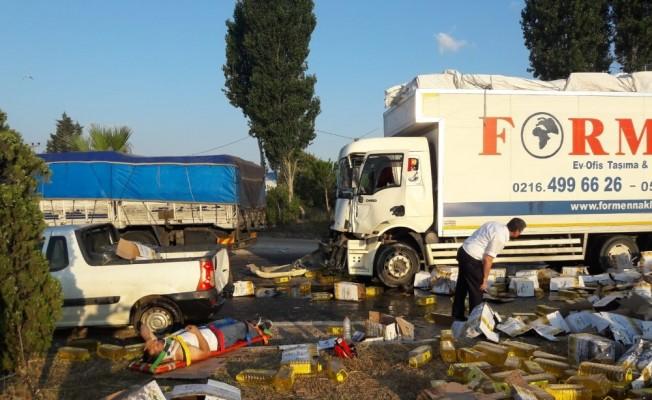 Balıkesir'de zincirleme kaza: Ortalık savaş alanına döndü