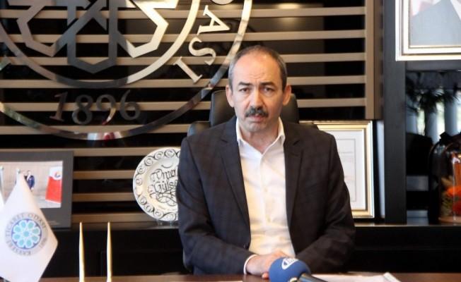 """Başkan Gülsoy: """"Fuarların yapılmaması hususunda girişimlerimize devam edeceğiz"""""""