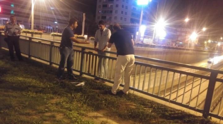 Bursa'da eşi telefonu kapattı diye intihara kalkıştı