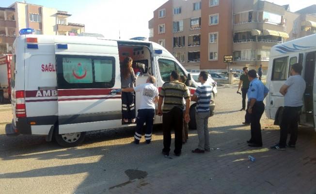 Bursa'da işçi servisi kaza yaptı: 12 yaralı