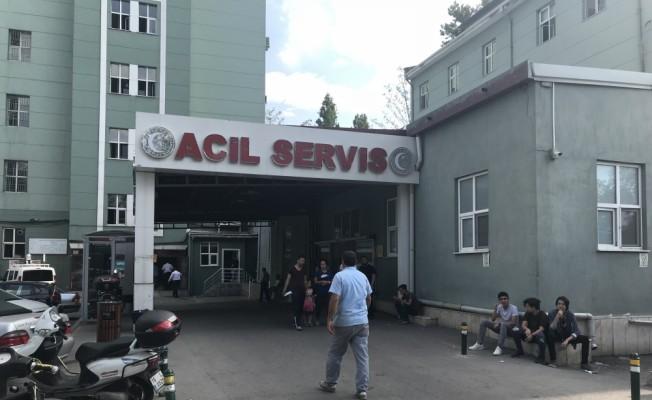 Bursa'da polise bıçaklı saldırı