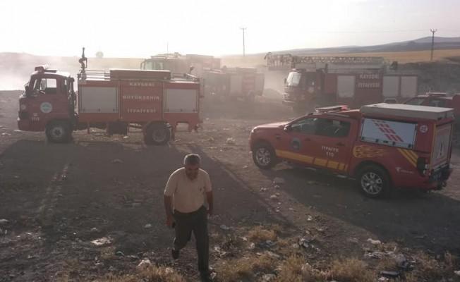 Felahiye'de 500 dekar alan yanarak kül oldu