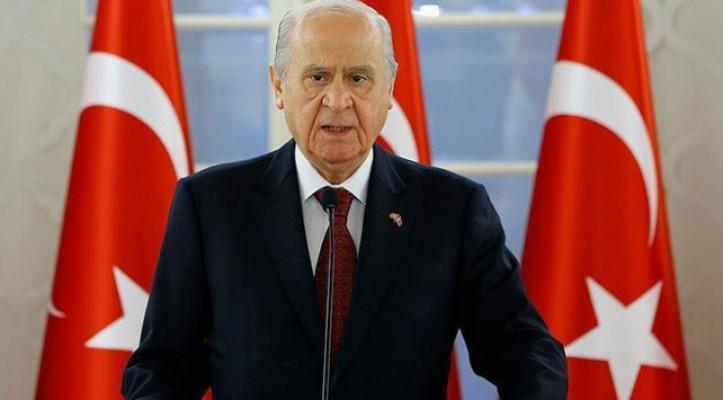 MHP Genel Başkanı Bahçeli'den 3 konuda önemli açıklamalar