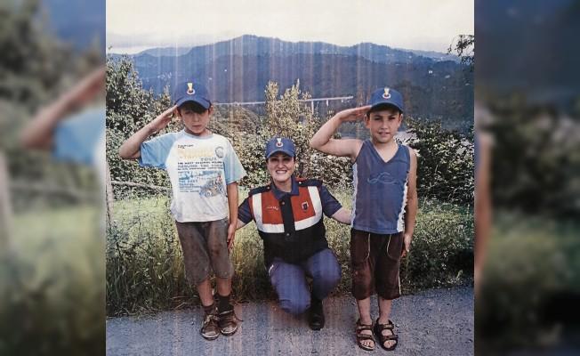 Ordu'da Jandarma ile çocuklar güvende