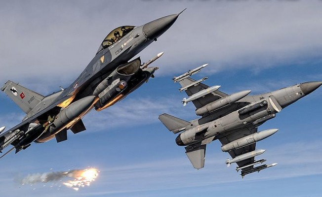 PKK'ya bir darbe daha ... Hava harekatlarında 6 terörist etkisiz hale getirildi
