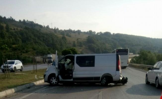Samsun'da trafik kazası: 2 ölü, 9 yaralı