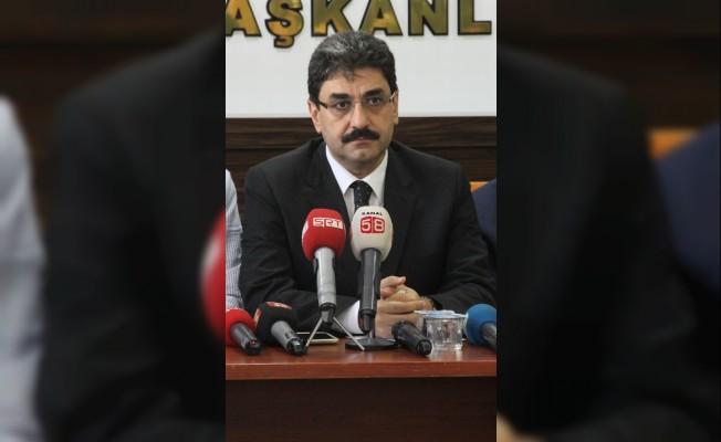 AK Parti İl Başkanı Aksu görevine başladı