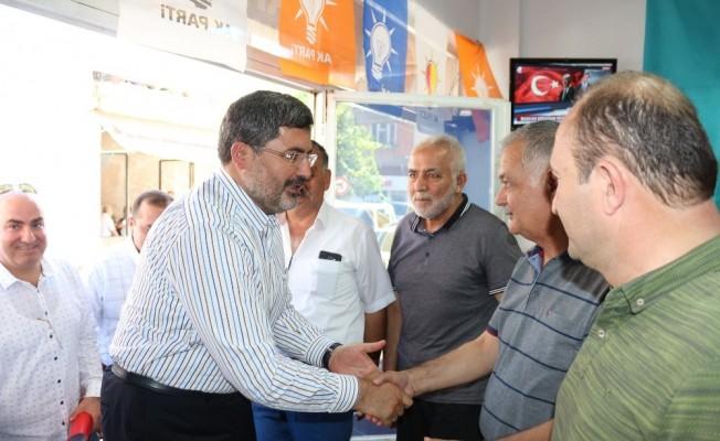"""AK Parti'li Milletvekili Özkaya: """"Türk milletinin birlik ve beraberliği sayesinde bu sıkıntılı süreç aşılacaktır"""""""