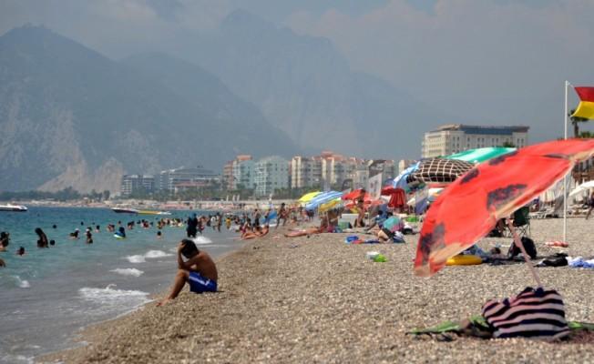 Antalya'da yoğun nem