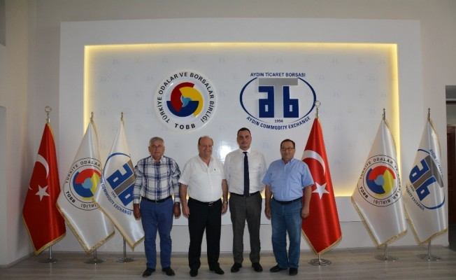 Başkan Özakcan'dan Aydın Ticaret Borsası'na ziyaret