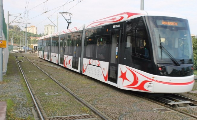 """Başkan Şahin: """"Yerli ve mili tramvayı Samsunluların hizmetine sunacağız"""""""