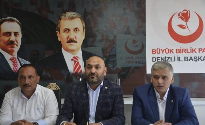 BBP Partisi'nden ekonomi konusunda hükümete destek açıklaması
