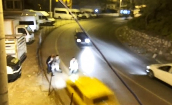 Bitlis'te trafik kazaları kamerada