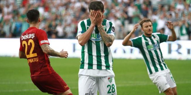 Bursaspor 0- 0 Kayserispor (MAÇ SONUCU)