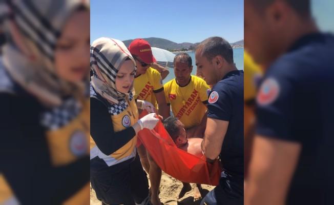 Cankurtaranlar astım krizi tutan adamın hayatını kurtardı