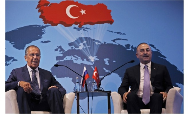 Çavuşoğlu ve Lavrov'dan Ankara'da ortak basın toplantısı