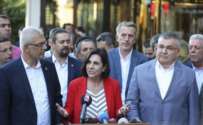 CHP'li muhaliflerin toplantısı