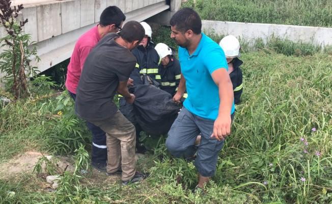 Çorlu'da derede ceset bulundu