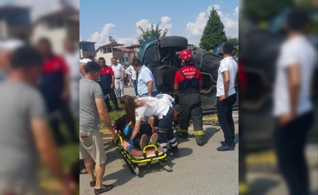 Denizli'de trafik kazası: 1 ölü, 3 yaralı