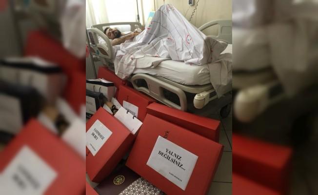Dr. Baba'ya Türkiye'den destek yağıyor