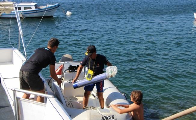 Erdek Körfezinde su altı görüntüleme yarışması düzenlendi