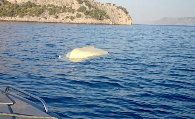 Fethiye'de deniz kazası: 1 ölü, 1 yaralı