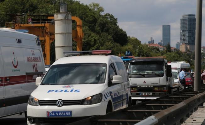 FSM Köprüsü'nde zincirleme trafik kazası