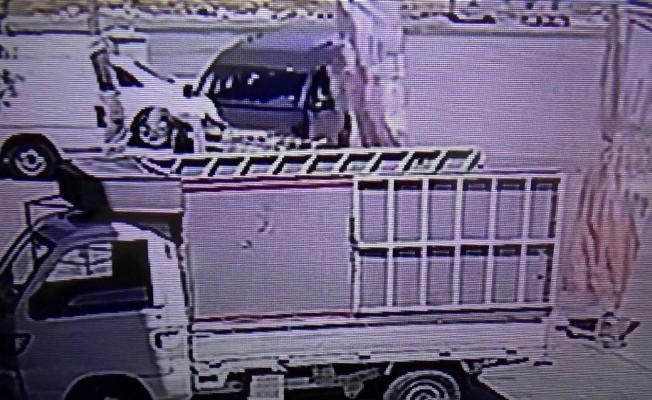 Gaziantep'te ilginç trafik kazası: 1 yaralı
