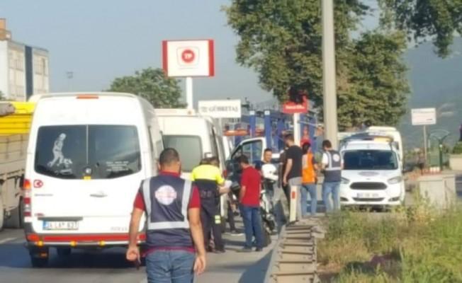 Gebze'de korsan taşımacılık yapan 38 araç bağlandı