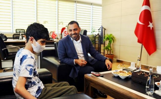Hamza Yerlikaya'dan Mehmet Selim Yüce'ye destek