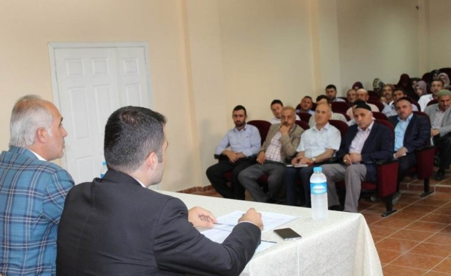 Hasköy'de 'Malazgirt Zaferi' konulu toplantı
